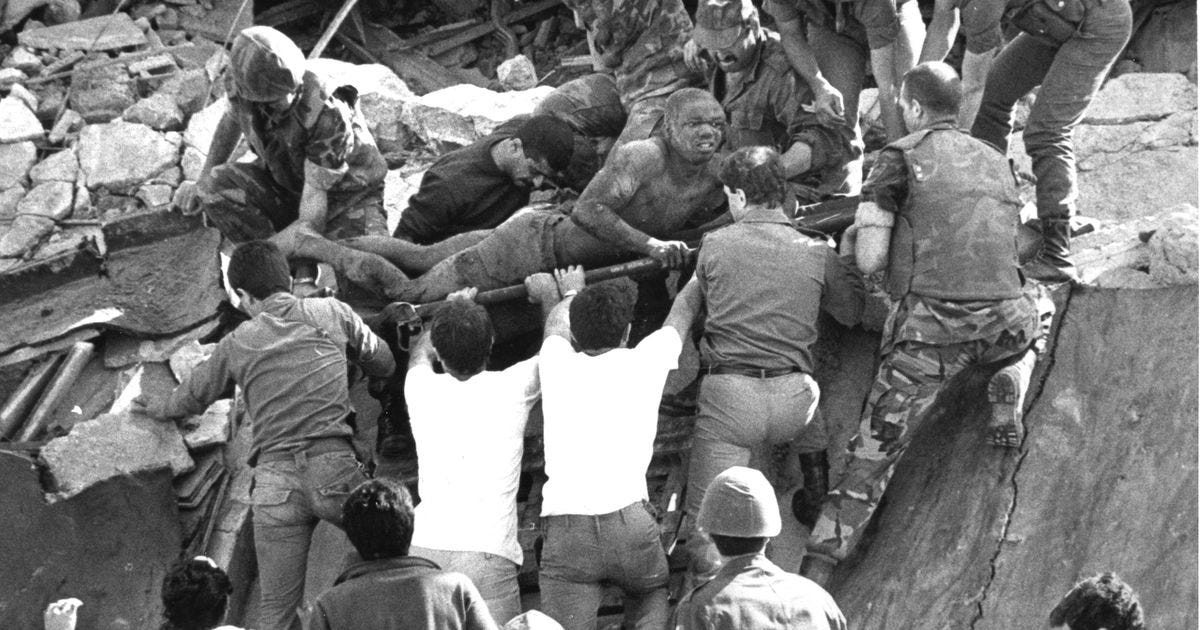 The Beirut Marine Barracks Bombing and Heartbreak Ridge