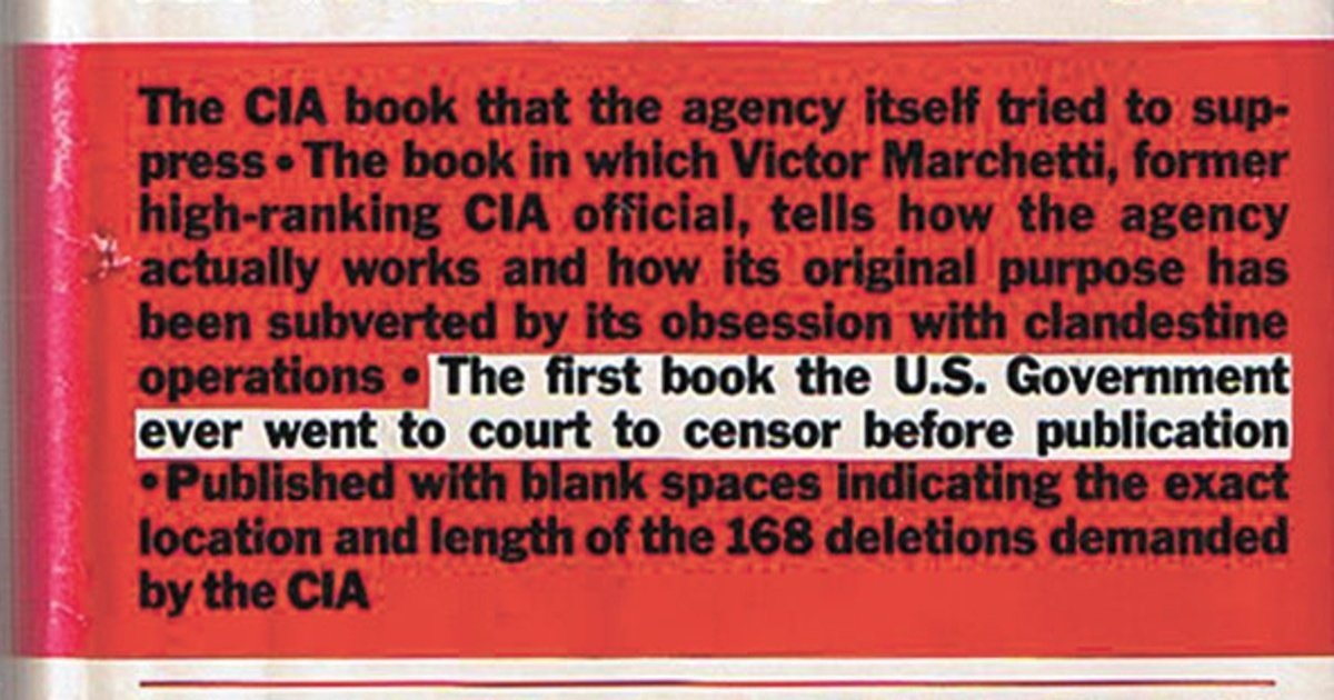 ClandesTime 140 – How the CIA Censored The CIA and the Cult of Intelligence