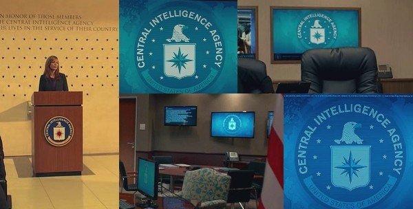 CIA logo montage - Spy