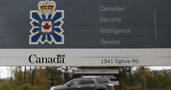 Canadian Intelligence deny any involvement in entertainment production
