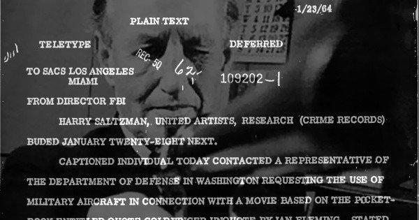 Ian Fleming and the FBI