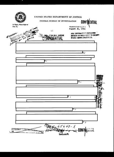 FBI-GrahamGreene-CIA-Redacted