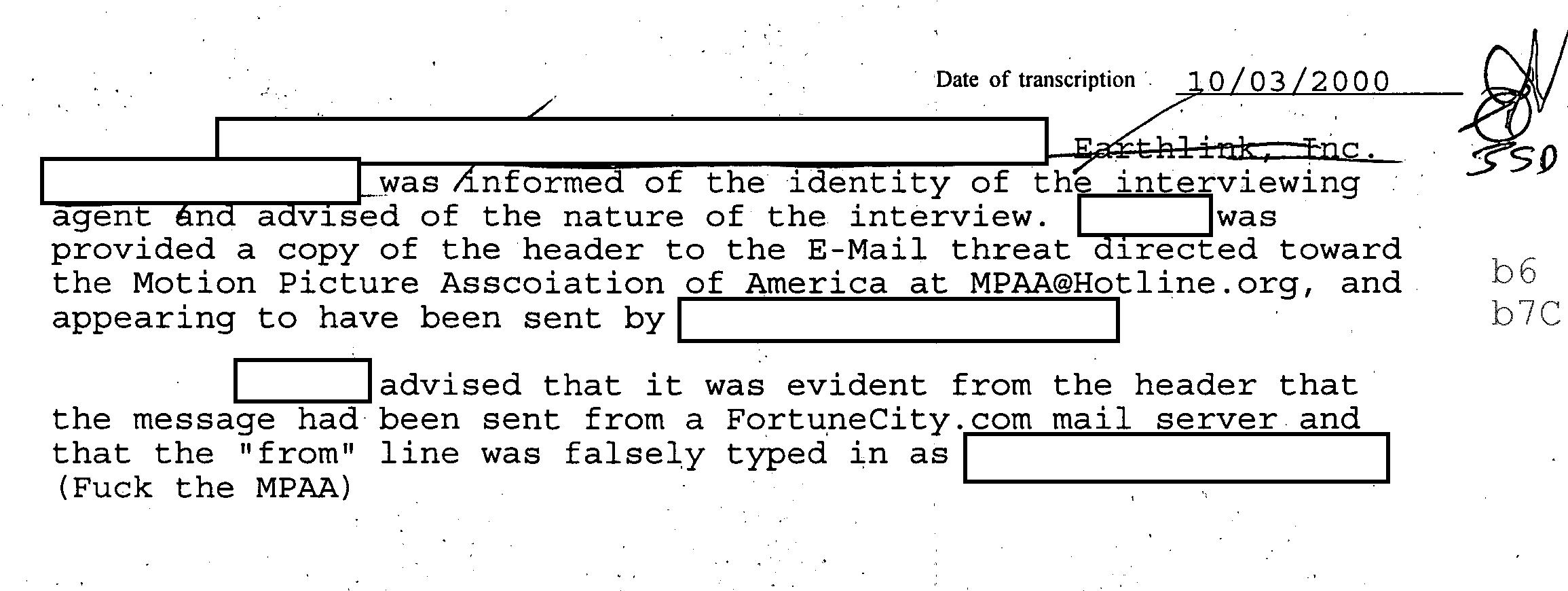 FBI-MPAAemailthreat-investigation