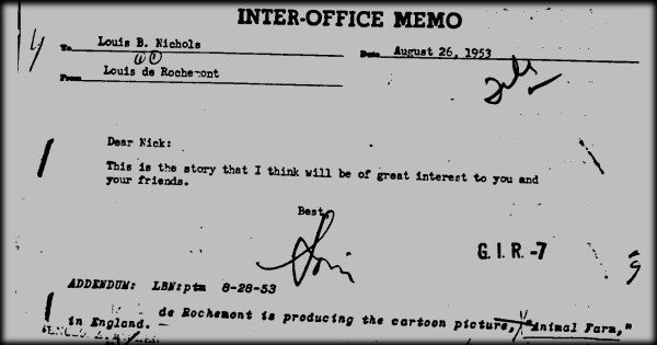 FBI file on George Orwell