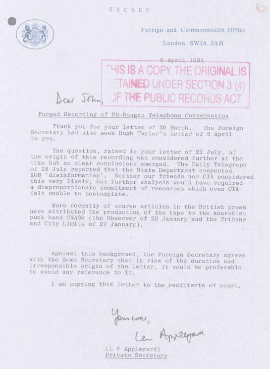 FCO-letter-Thatchergate2