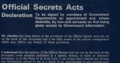 Disinfowars 13 - Institutional Secrecy