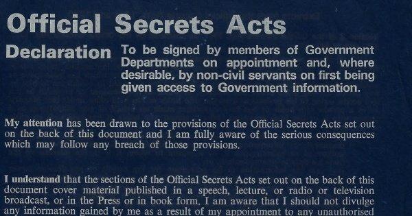 Disinfowars 13 – Institutional Secrecy