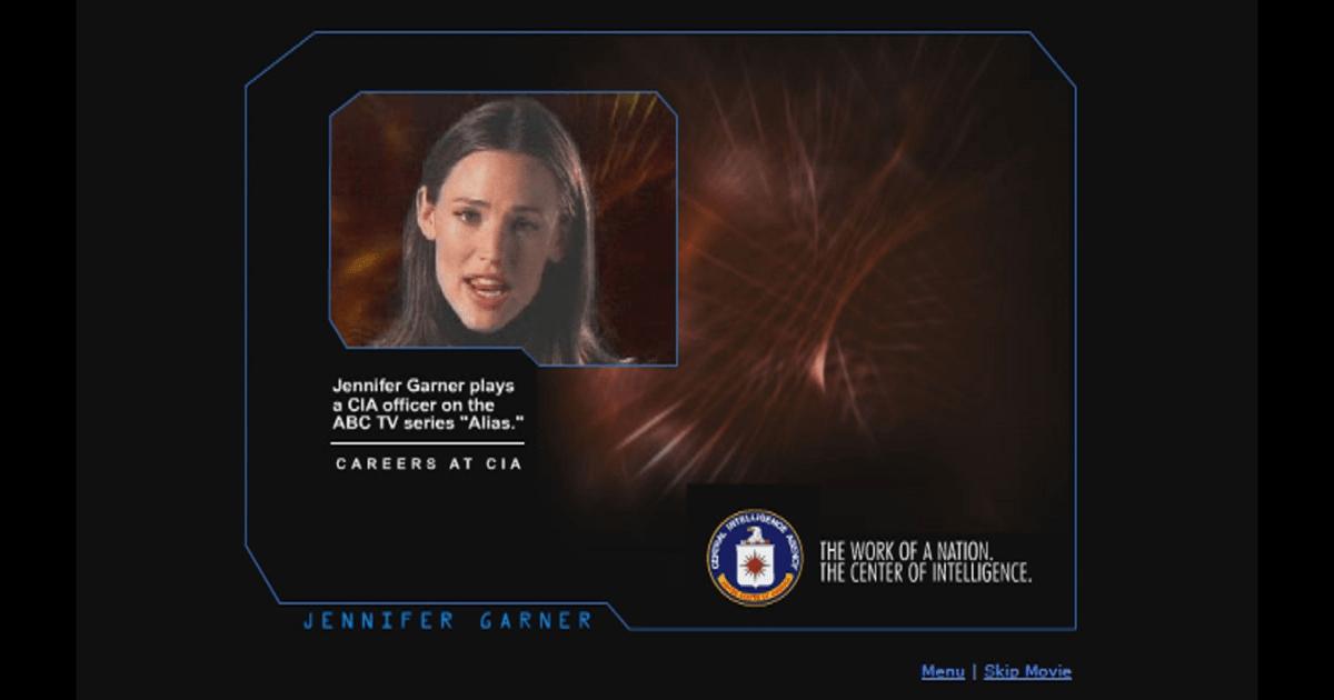 The Jennifer Garner CIA Recruitment Video