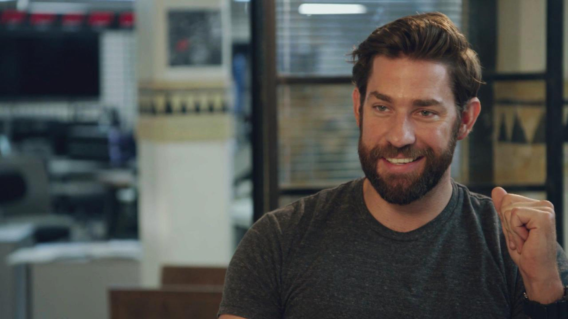 John Krasinski Plays the Innocent Act When it Comes to Making Political Propaganda (Again)