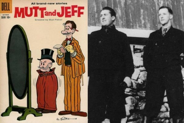 Mutt-and-Jeff-Comparison