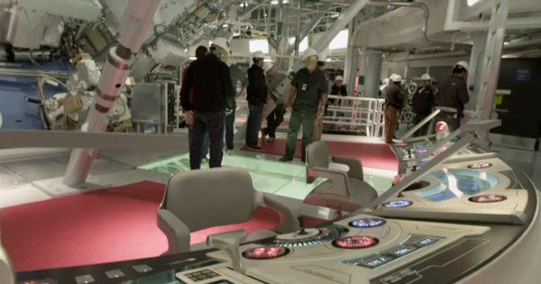 Security Gone Bananas for the Filming of Star Trek