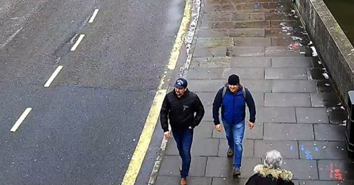 Are Salisbury Poisoning CCTV Images Actually Surveillance Pictures?