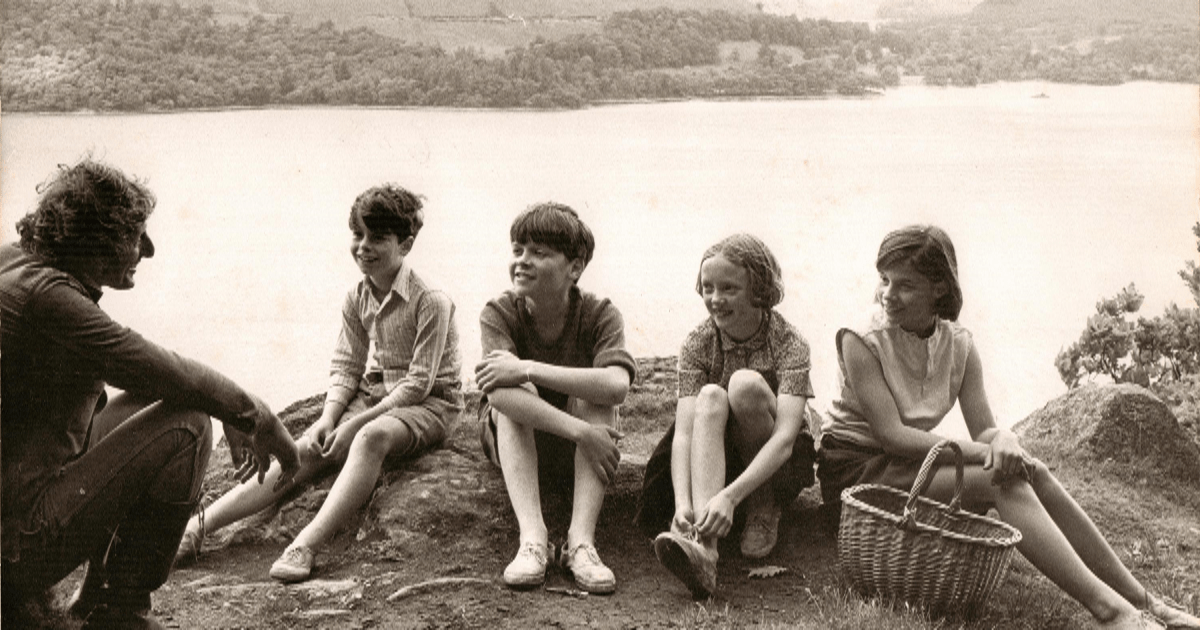 ClandesTime 127 – Arthur Ransome (and Swallows and Amazons)
