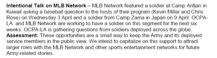 USArmy-MLBIntentionalTalk