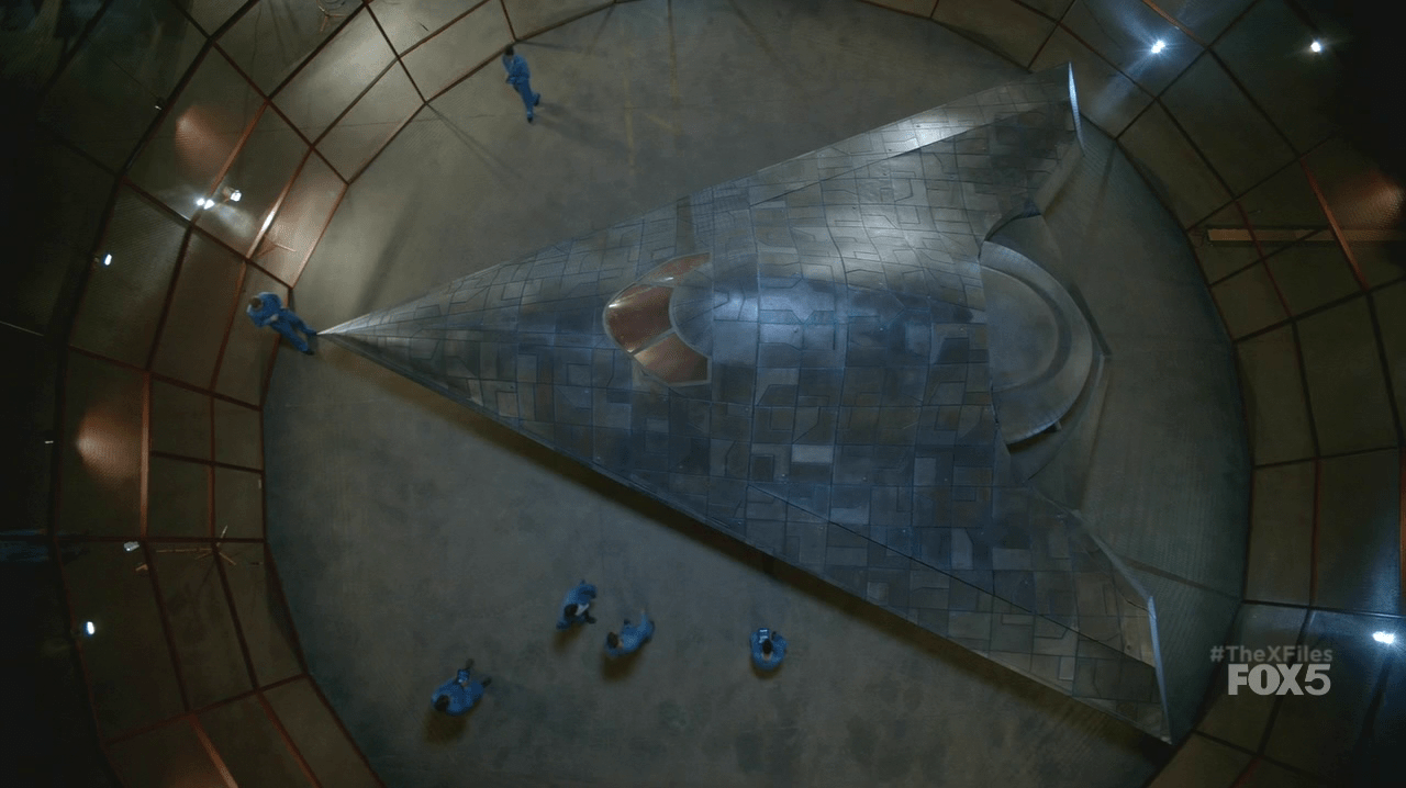 X-Files alien craft