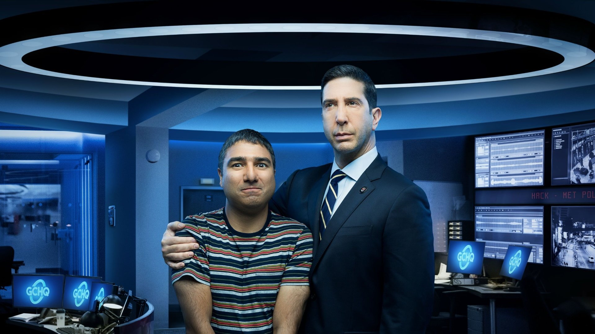 David Schwimmer Admits His New Show Intelligence is Propaganda for GCHQ